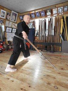 photo stage karaté kobudo takashi Kinjo